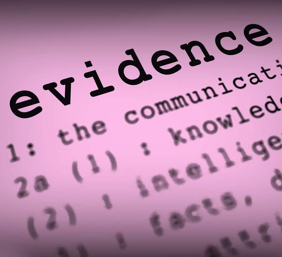 Evidence & Authentication