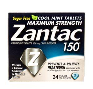 Box of Zantac