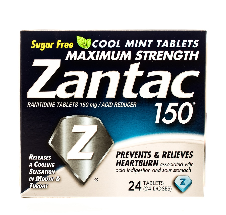 Box of Zantac
